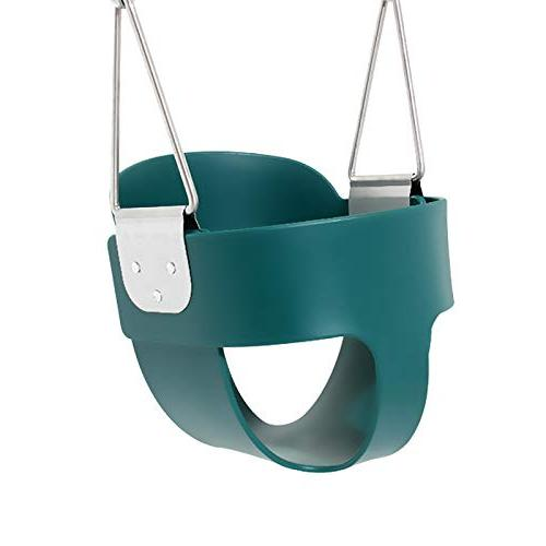 Take Back Swing Seat with Coated Chains Assembled - Swing Set Accessories,