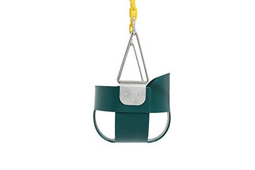 Take Away Back Swing Seat Yellow Coated Assembled Accessories,