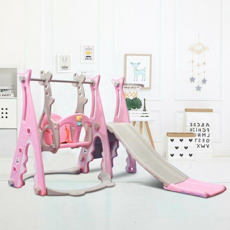 toddler climber and swing set 3 in