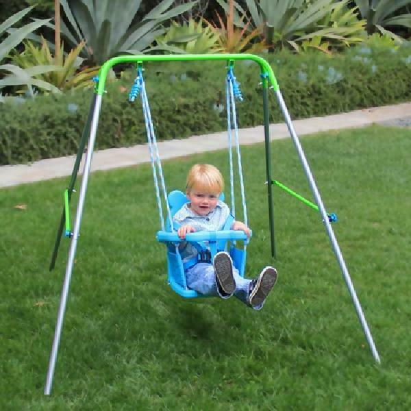 Sportspower Indoor/Outdoor My First Toddler Swing, Foldable