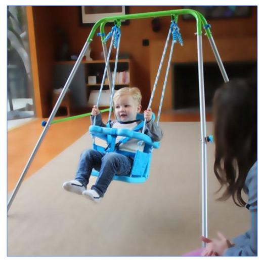 toddler swing set kids baby chair indoor