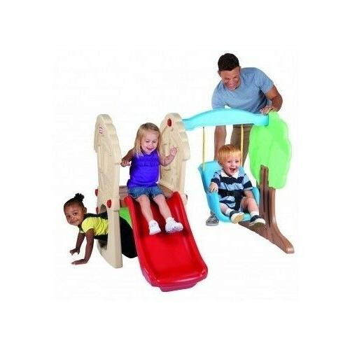 Toddler Swing Set & Slide Small Little Tikes Climbing Outdoo
