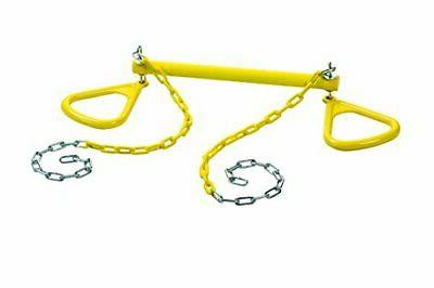 ultimate triangle rings trapeze bar