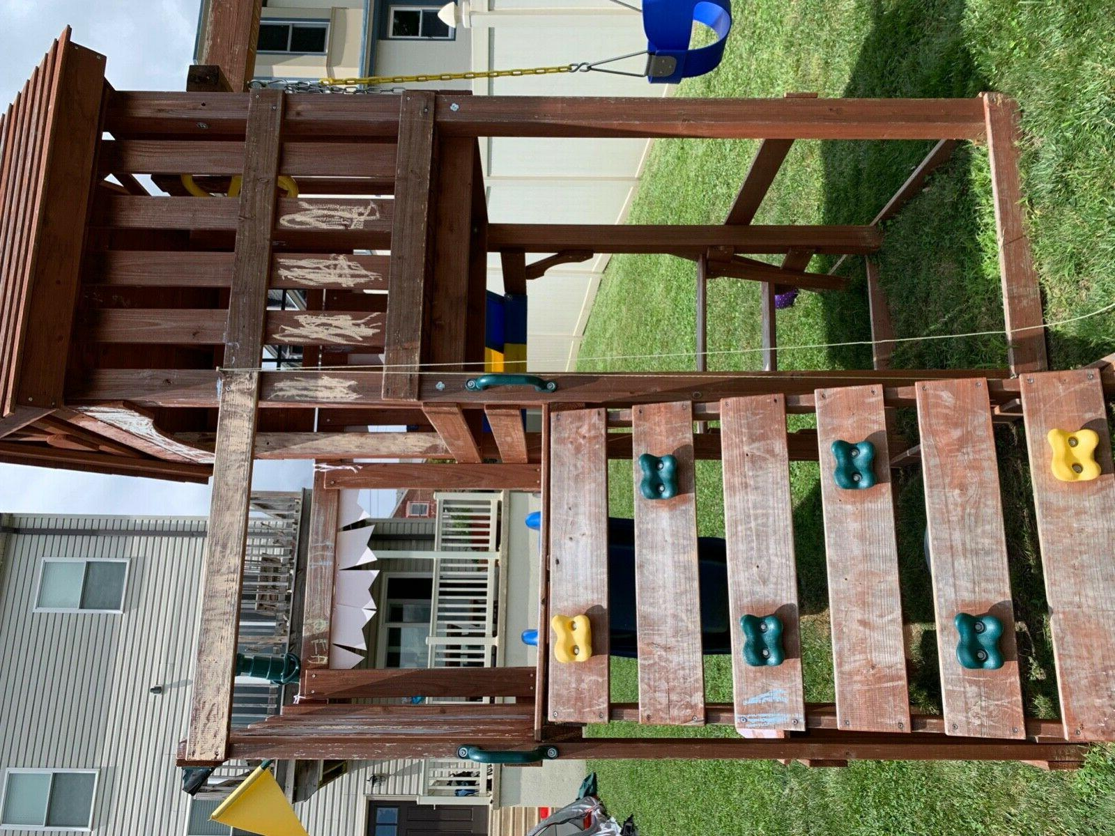 used kids swing sets 2019 play systems
