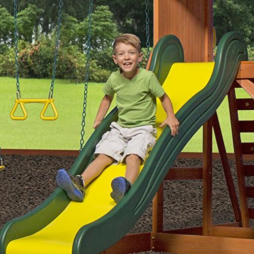 Backyard Weston Cedar Swing Set