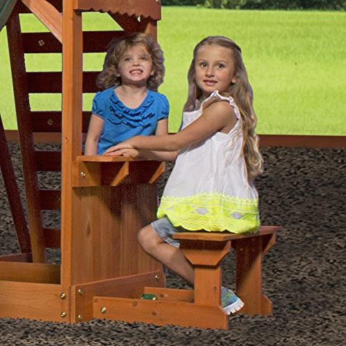 Backyard Discovery Weston Swing Set