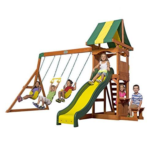 Backyard Weston Cedar Swing