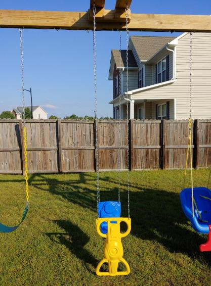 Wind Glider Swing Outdoor Play Set Accessories Weather