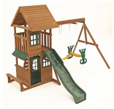 Big Cedar Set Playground
