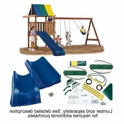 wrangler deluxe swing set hardware