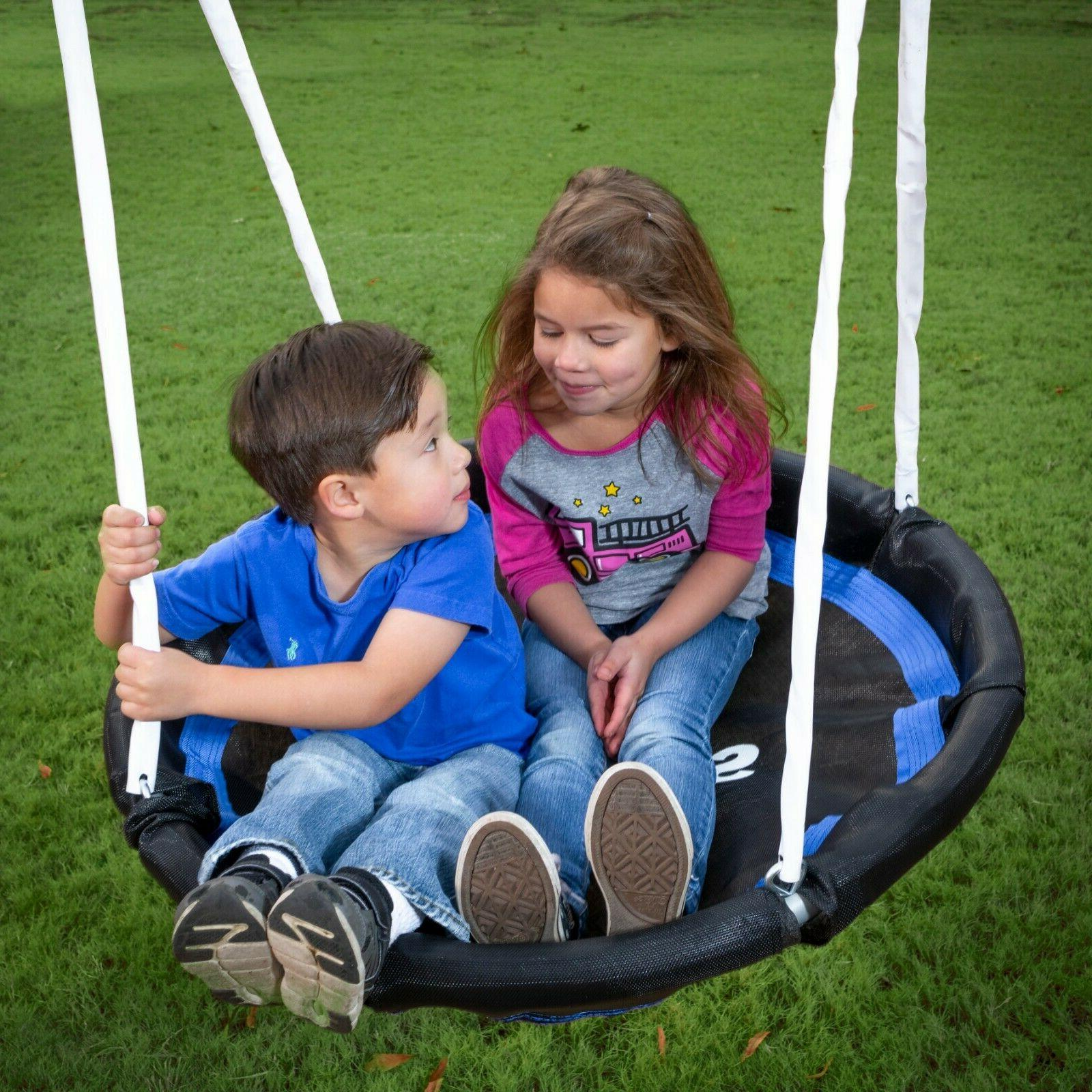 XDP Recreation Fun Galvanized Metal Swing Set