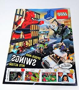 Lego Life Spider-Man Swings into Action! June -August 2017 M