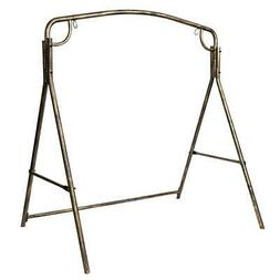 Metal Frame Swing Set Stand Fun Play Children & Adult Have F