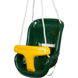 Swing Set Stuff Molded Highback Infant Seat with Rope with S