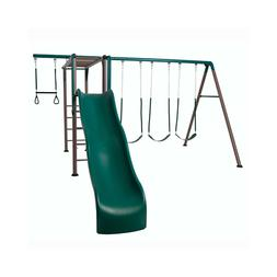 LIFETIME MONKEY BAR ADVENTURE SWING SET  90143 PLAYGROUND PL