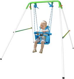Sportspower My First Toddler Swing - Heavy-Duty Baby Indoor/