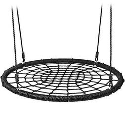 40 Inch Net Spider Web Round Swing. Saucer Safety Rating Ove