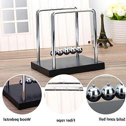 Newtons Cradle For Learning & Education  , Stainless Steel B