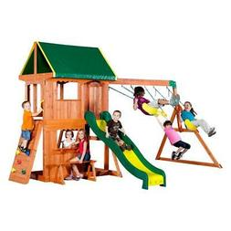 NIB SOMERSET BACKYARD DISCOVERY SWINGSET MODEL 65012