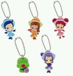BANDAI OJAMAJO MAGICAL DOREMI FIGURE GASHAPON SWING SET OF 5