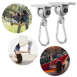 Pack 2 Heavy Duty Gym Swing Hangers Swing Set Accessory Hard