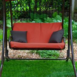 Patio Swing with Canopy Garden Porch Outdoor for Adults Lawn