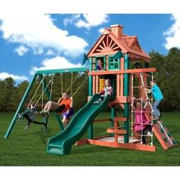 Gorilla Playset Pink Infant Swing High Back Playground Backy