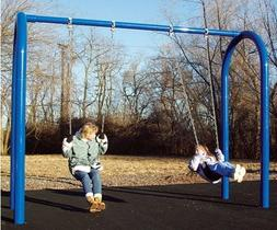 Sports Play 581-706 Arch Post Swing - 6 Seater