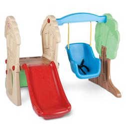 Playground  Swing Set Kids Slide Play Center Baby Toddler In