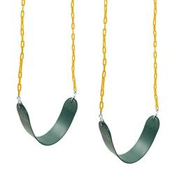 Barcaloo Playground Swing with Plastic Coated Chain 2 Pack -