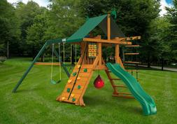 Gorilla Playsets High Point Kid's Outdoor Playground Real Ce