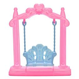 Ameesi Pretend Toy Dollhouse Furniture Miniature Swing Play