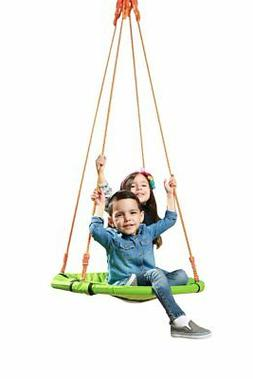 SLIDEWHIZZER Indoor Outdoor Round Tree Swings - Kids Swing S