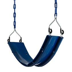 Swing-N-Slide SA 2162 Swing Seat with Coated Chains, Blue