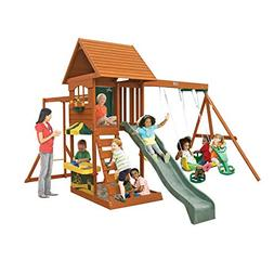 Big Backyard Sandy Cove Wooden Playset