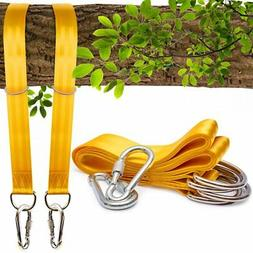 Benicci Tree Swing Straps Hanging Kit  - 10ft Long with Two