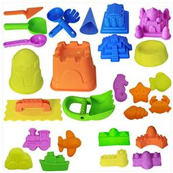 ETbotu 27pcs/Set Children Beach Sand Modeling Water Play Toy