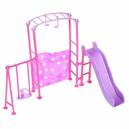 slide swing set dollhouse doll