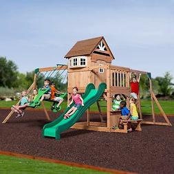 specials montpelier cedar wood playset