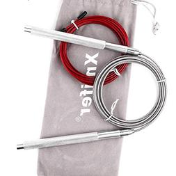 Xmifer High Speed Jump Rope for Crossfit Exercise Boxing Wor