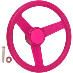 Swing Set Stuff Children's Steering Wheel with SSS Logo Stic
