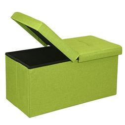 "Otto & Ben 30"" Storage Ottoman - Folding Toy Box Chest with"