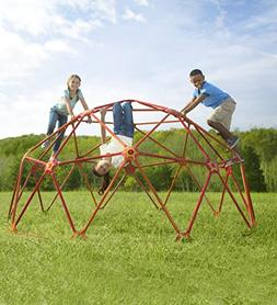 HearthSong® SunRise Geometric Climbing Dome Jungle Gym - Ba