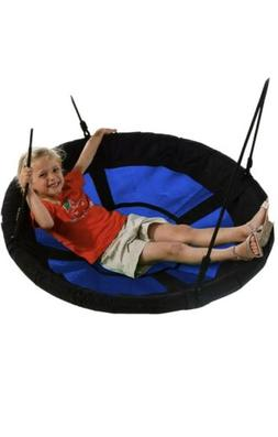 "Swing-N-Slide WS 4861 Nest Swing with 40"" Diameter, Blue OPE"