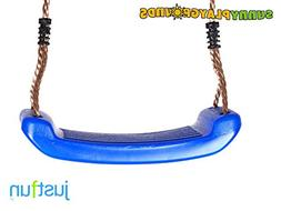 SWING SEAT BLUE with FREE ROPE-Outdoor and Indoor Playground
