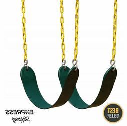 Swing Seat Set Heavy Duty Hanging Accessories w/Replacement