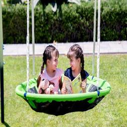 Swing Set For Small Yard Backyard Metal Playground Slide Fun