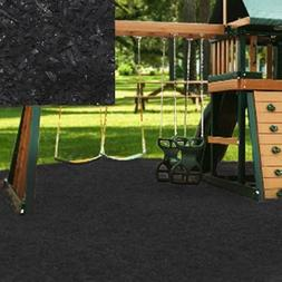 KIDWISE Swing Set Playground Rubber Mulch 75 Cu.Ft. Pallet-B