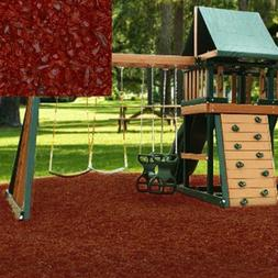 KIDWISE Swing Set Playground Rubber Mulch 75 Cu.Ft. Pallet-C