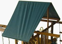 """SWING SET STUFF SOLID COLOR CUSTOM TARP UP TO 59"""" WIDE canop"""